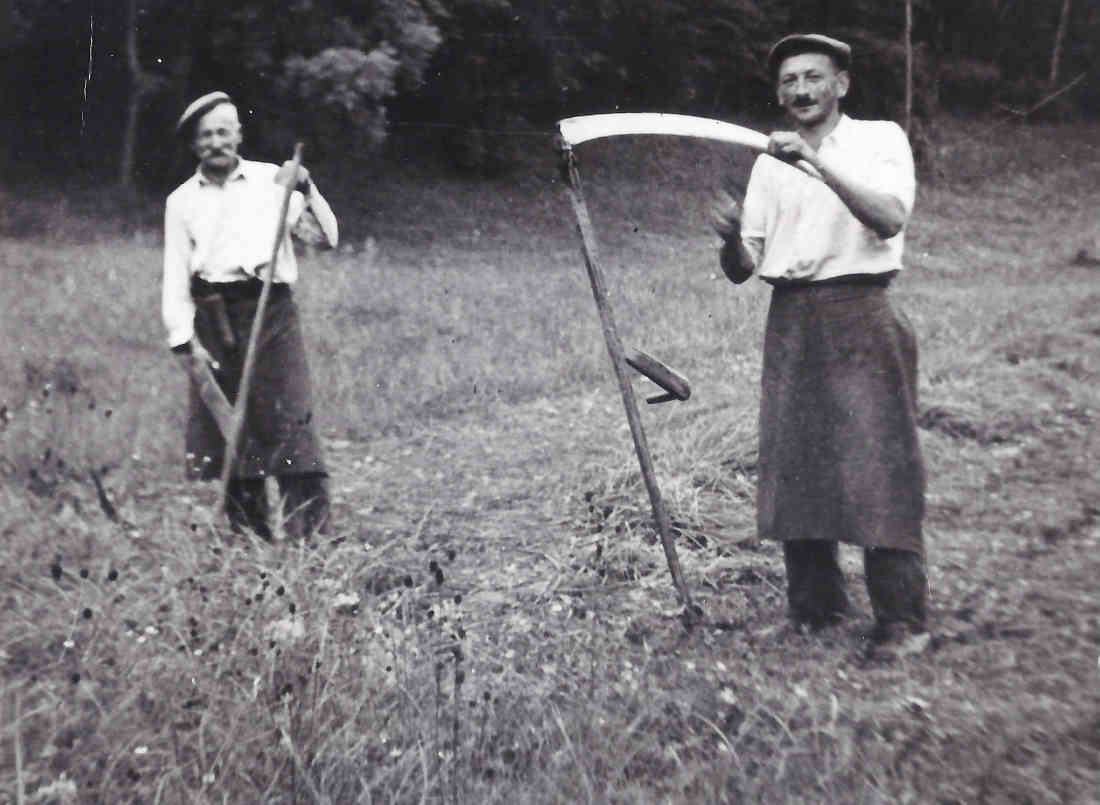 Heumahd - Herr Karner mit Sohn