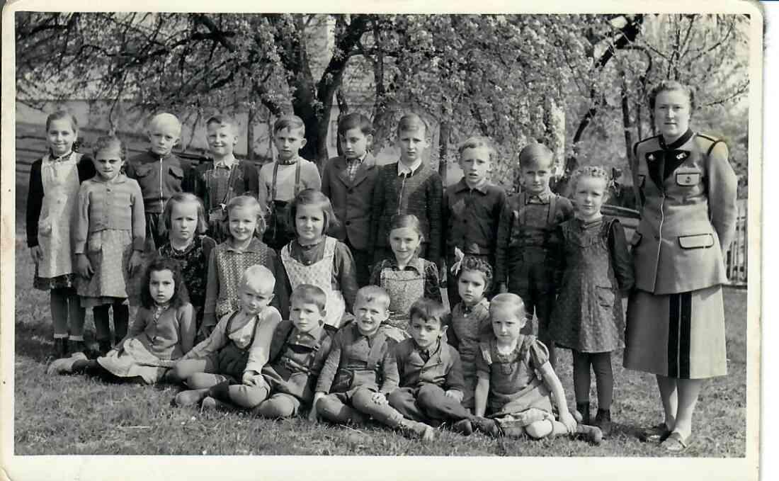 Volksschule Aschau1954